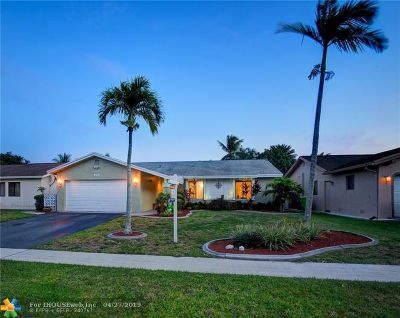 Sunrise Single Family Home Backup Contract-Call LA: 10790 NW 26th St