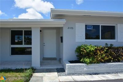 Wilton Manors Rental For Rent: 2103 NE 15th Ave