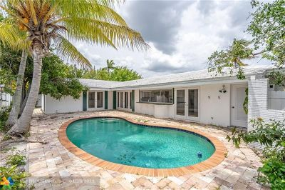 Fort Lauderdale Single Family Home For Sale: 4131 NE 26th Ave