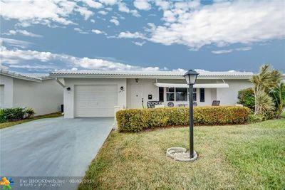 Boynton Beach Single Family Home For Sale: 2394 SW 13th Way