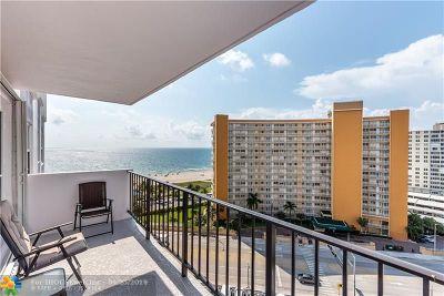 Pompano Beach Condo/Townhouse For Sale: 405 N Ocean Blvd #1122