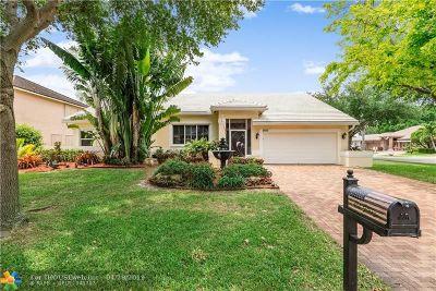 Coconut Creek Single Family Home Backup Contract-Call LA: 5651 NW 38th Ter