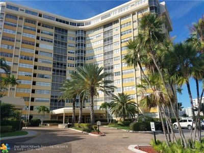 Hallandale Condo/Townhouse For Sale: 100 Golden Isles Dr #701
