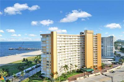 Pompano Beach Condo/Townhouse For Sale: 405 N Ocean Blvd #129