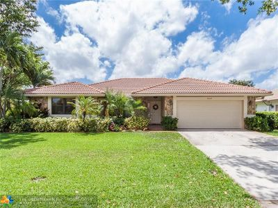 Coral Springs Single Family Home For Sale: 4204 NW 73rd Ave