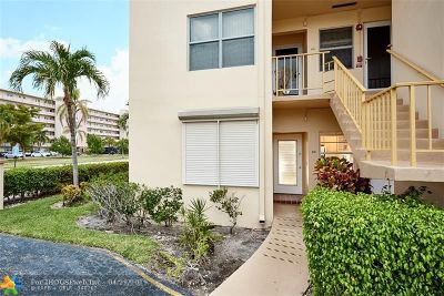 Hallandale Condo/Townhouse For Sale: 1250 Atlantic Shores Blvd #107