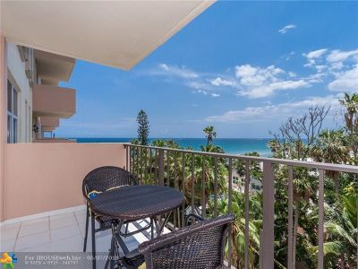 Hillsboro Beach Condo/Townhouse Backup Contract-Call LA: 1147 Hillsboro Mile #706