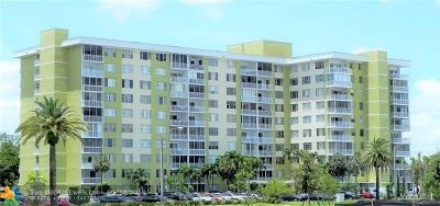Broward County Condo/Townhouse For Sale: 4400 Hillcrest Dr #912B