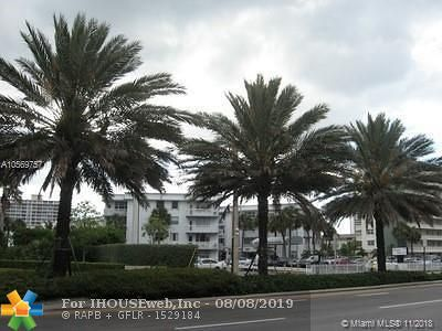 Hallandale Condo/Townhouse For Sale: 1913 S Ocean Dr #313