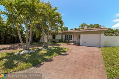 Single Family Home For Sale: 801 NE 19th Ter