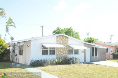 Sunrise Single Family Home Backup Contract-Call LA: 6220 NW 12th St