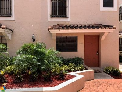Pembroke Pines Condo/Townhouse Backup Contract-Call LA: 11707 NW 11th St #11707
