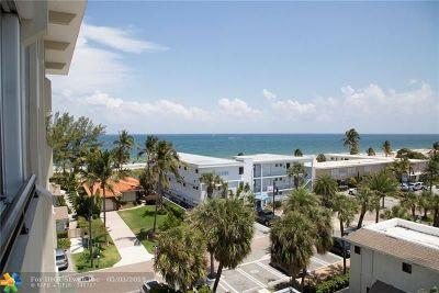 Pompano Beach Condo/Townhouse For Sale: 401 Briny Ave #616