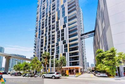 Miami Condo/Townhouse For Sale: 31 SE 6th St #1401