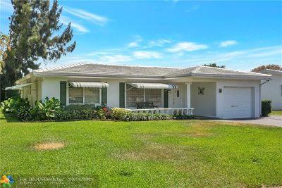 Pompano Beach Single Family Home For Sale: 3270 E Golf Boulevard