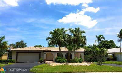 Coral Springs Single Family Home Backup Contract-Call LA: 10030 NW 39th Ct