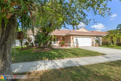 Pembroke Pines Single Family Home For Sale: 385 SW 188th Ave