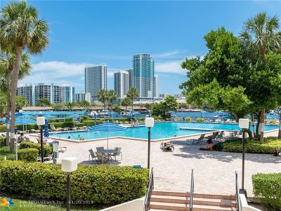 Hallandale Condo/Townhouse For Sale: 2500 Parkview Dr #711