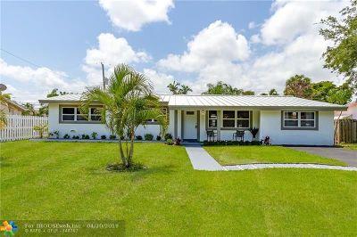 Pompano Beach Single Family Home For Sale: 821 SE 1st Ave