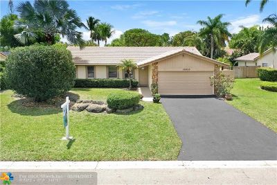 Coral Springs Single Family Home Backup Contract-Call LA: 10922 NW 20th Dr