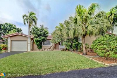 Plantation Single Family Home For Sale: 7161 E Tropical Way