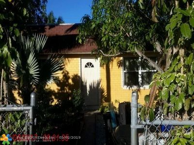 Fort Lauderdale Multi Family Home For Sale: 1401 NW 1st Ave