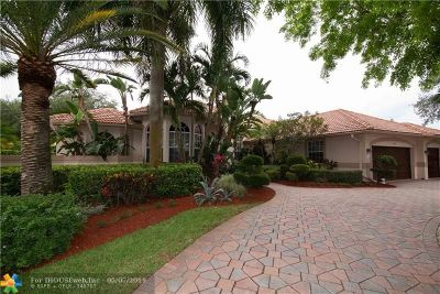 Coral Springs Single Family Home For Sale: 1737 NW 124th Way
