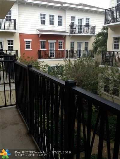 Pompano Beach Condo/Townhouse For Sale: 614 SW 2nd Ter #.
