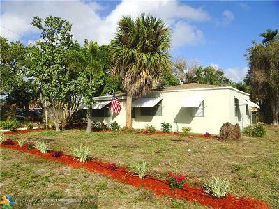 Pompano Beach Single Family Home For Sale: 408 NE 19th Ave