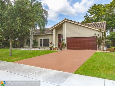 Coconut Creek Single Family Home Backup Contract-Call LA: 5493 NW 39th Ave