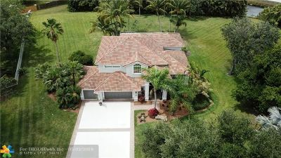 Davie Single Family Home For Sale: 3541 Carlton Ln