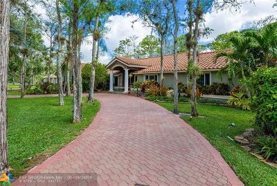 Coral Springs Single Family Home For Sale: 8140 NW 51st Pl