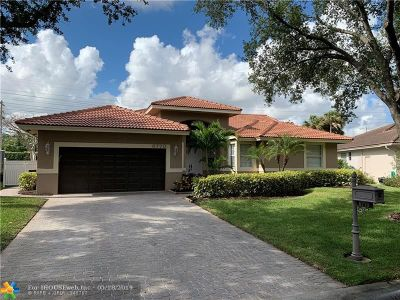 Coral Springs Single Family Home For Sale: 6770 NW 41st St