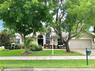 Davie Single Family Home For Sale: 3210 Overlook Rd