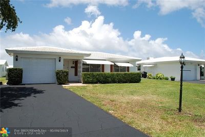 Pompano Beach Single Family Home For Sale: 211 Leisure Blvd