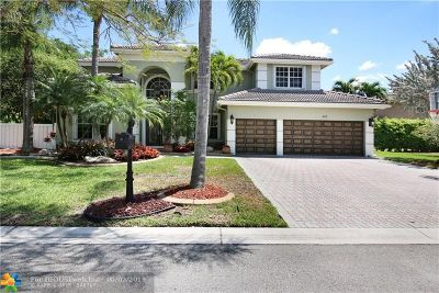 Coral Springs Single Family Home For Sale: 343 NW 121st Way