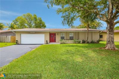 Coral Springs Single Family Home For Sale: 12028 NW 25th St