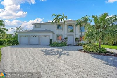 Coral Springs Single Family Home Backup Contract-Call LA: 5745 NW 100th Ter