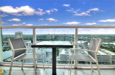 Fort Lauderdale Condo/Townhouse For Sale: 350 SE 2nd St #2820
