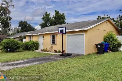 North Lauderdale Single Family Home For Sale: 8231 SW 7th Ct