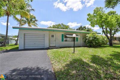 Plantation Single Family Home For Sale: 1340 Campanelli Dr
