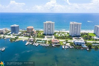 Boca Raton Condo/Townhouse For Sale: 500 S Ocean Boulevard #1508