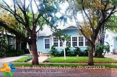West Palm Beach Single Family Home For Sale: 734 New York St