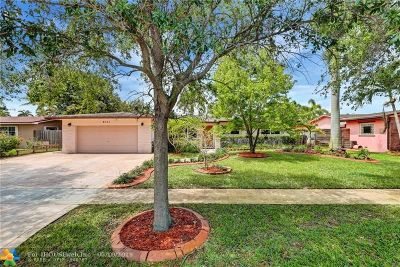 Pembroke Pines Single Family Home For Sale: 8331 NW 18th St