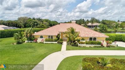 Delray Beach Single Family Home For Sale: 10265 Avenida Del Rio
