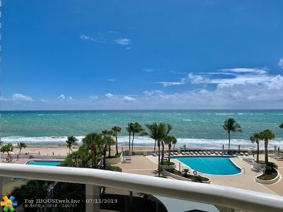 Rental For Rent: 4240 Galt Ocean Dr #602