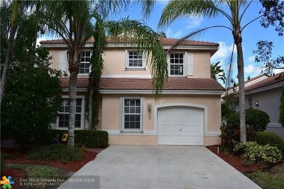 Coral Springs Single Family Home Backup Contract-Call LA: 11115 NW 46 Drive