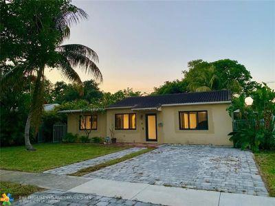 North Miami Single Family Home Backup Contract-Call LA: 1175 NE 131st St