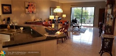 Pompano Beach Condo/Townhouse For Sale: 2240 N Cypress Bend Dr #508