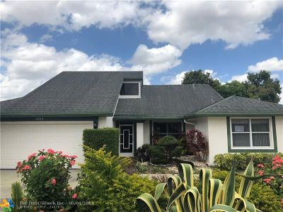 Tamarac Single Family Home For Sale: 8715 NW 83rd St